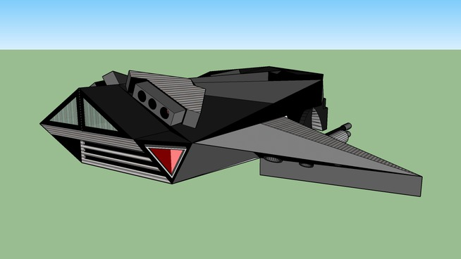 Future Space Ship