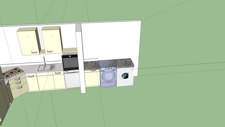 Demo keuken optie 2
