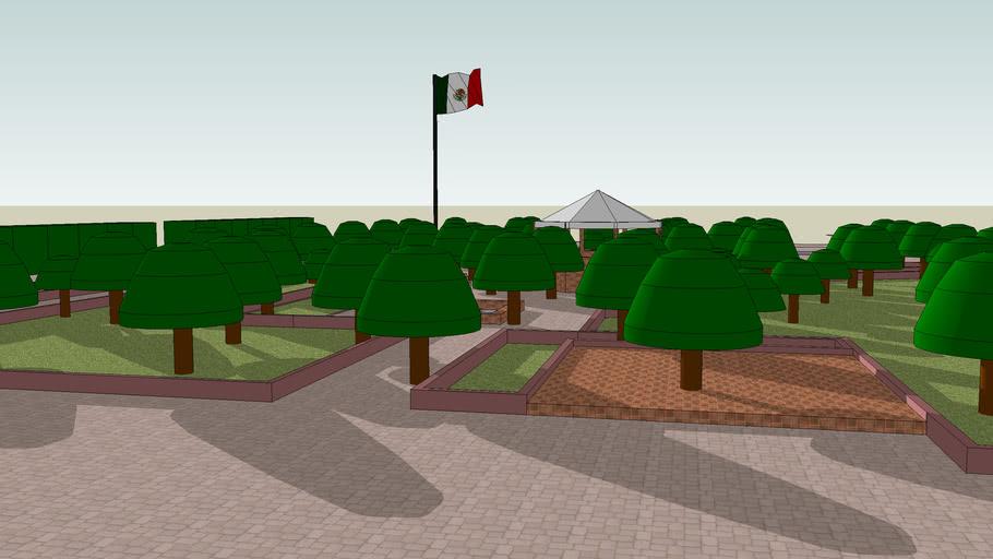 Zona Centro Peatonal Histórico de Leon