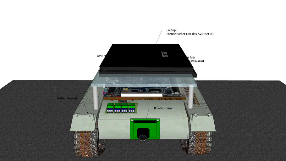 UK23 Ketten Bot