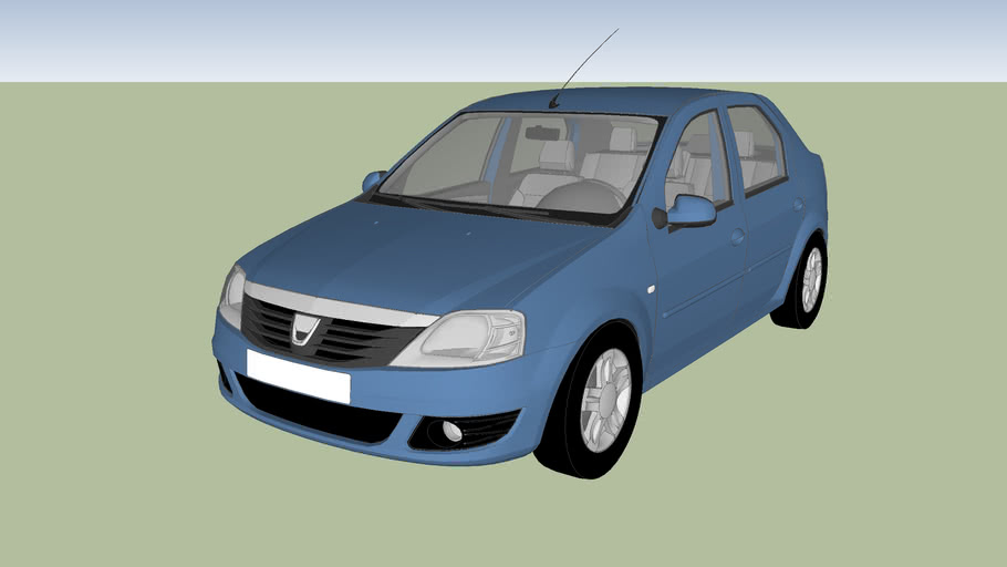 Vehicle Dacia Logan 2008
