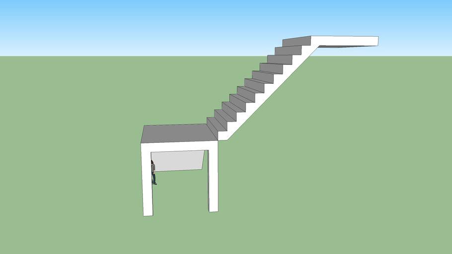 90度转角楼梯