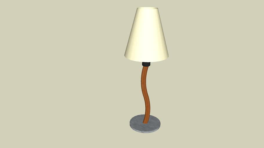 Lampe de table / Table lamp Metropolight
