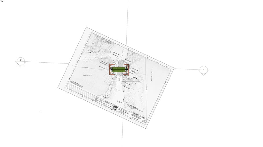 Grizzly Island over plan sheet