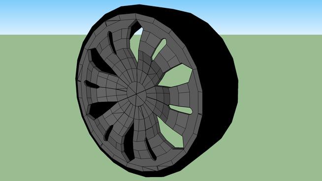 A-4 Car Wheel