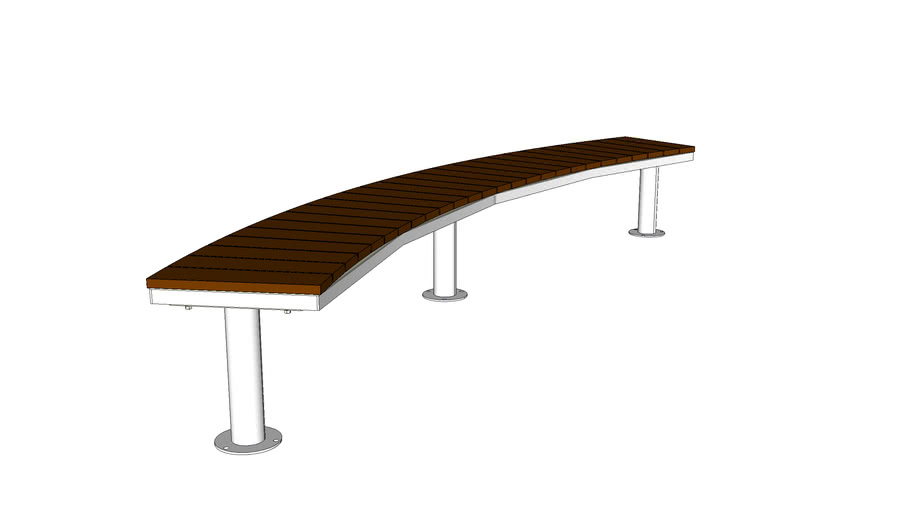 LAYT_OGM1900-00064 Backless Curved Bench