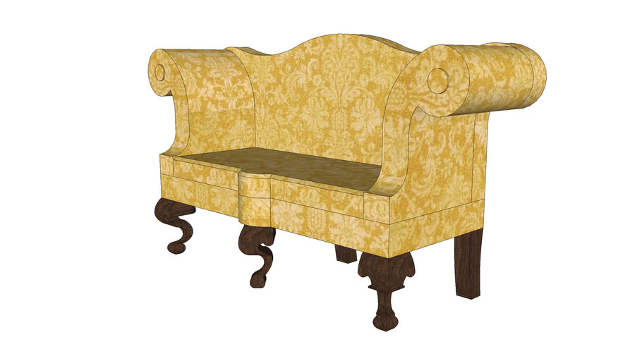 Chippendale Settee Or Sofa Warehouse