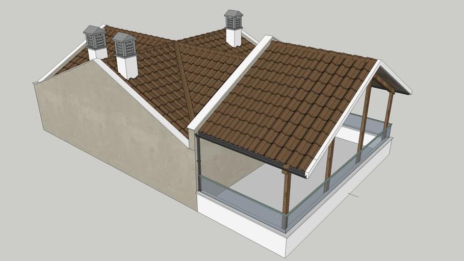 8x10 çatı