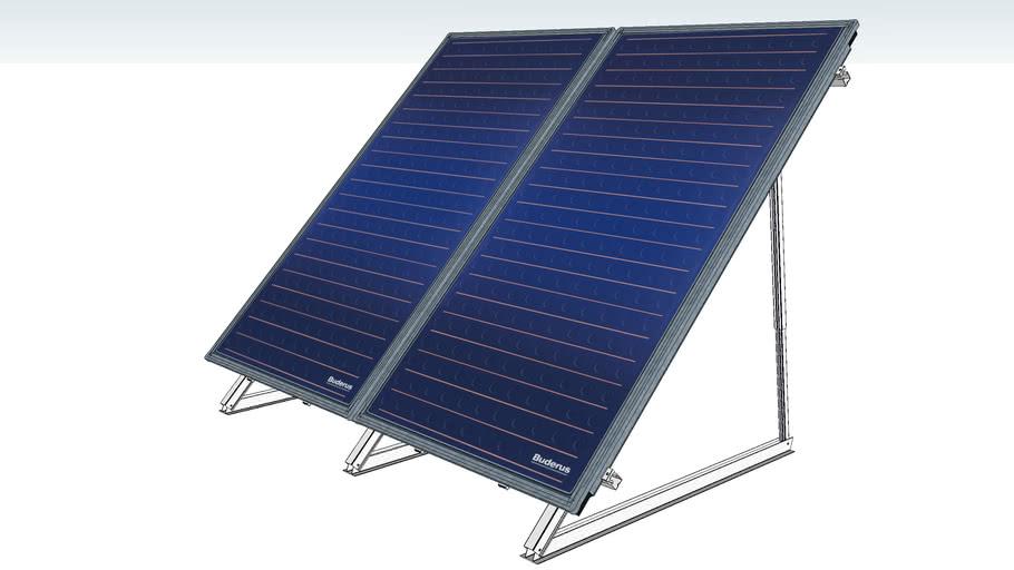 BUDERUS SOLAR SKS 4.0 Flatroof Model