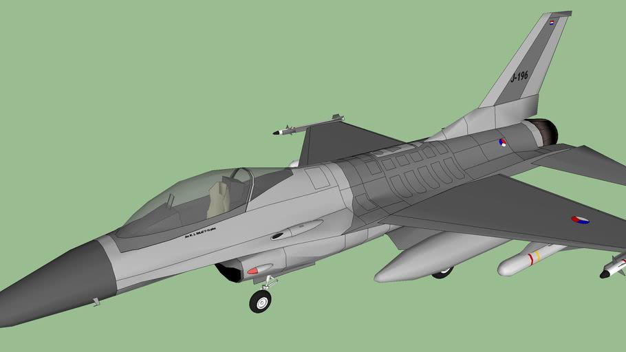 F-16A MLU RNLAF