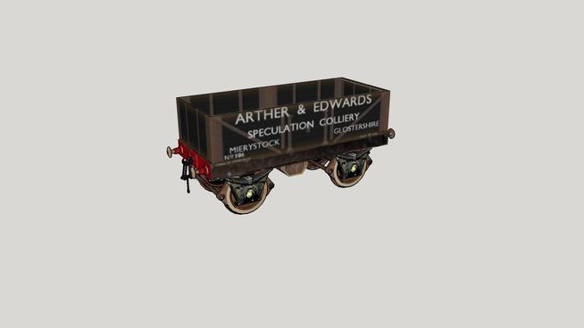 """""""AURTHER EDWARD'S"""".... Coal Wagon... No. 106..."""