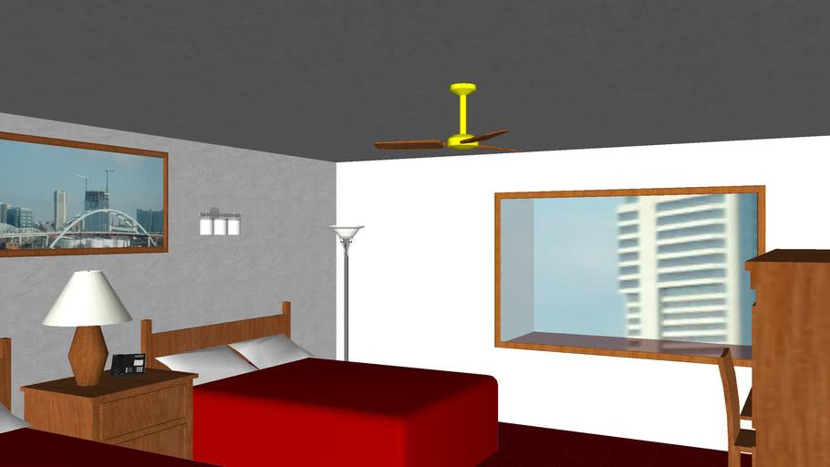 Haunted hotel room?