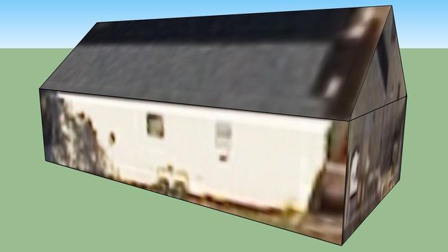 亚特兰大, GA, USA的建筑模型