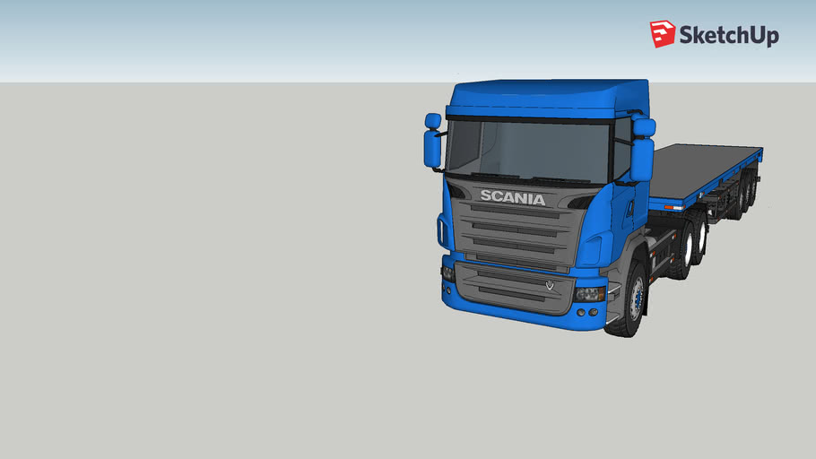 Printable Scania Truck