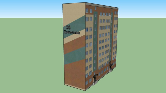 Blok mieszkalny Olsztyn IX