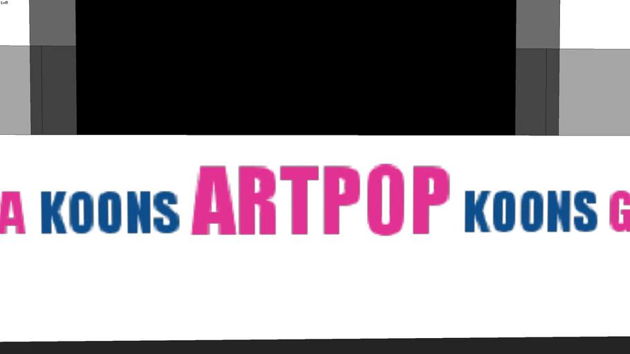 Lady Gaga artRave stage