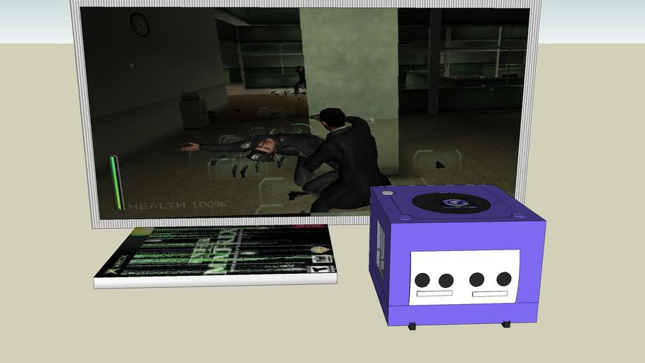 someone left the gamecube ON!!!!