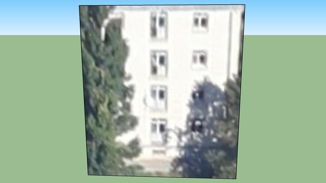 Building in Iași, România