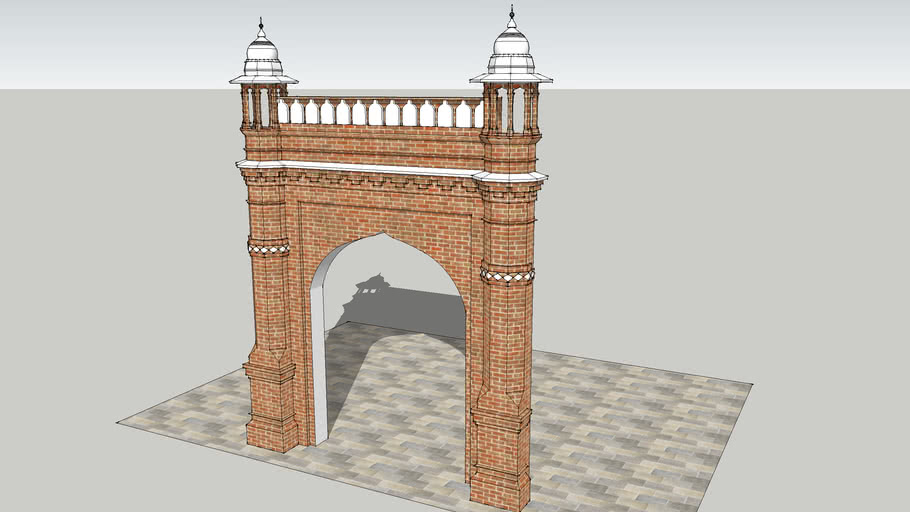 The Islamic Architecture Work [Front Entrance]
