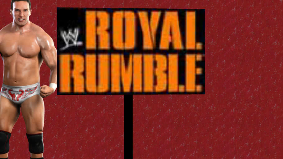 Royal Rumble Interview Area