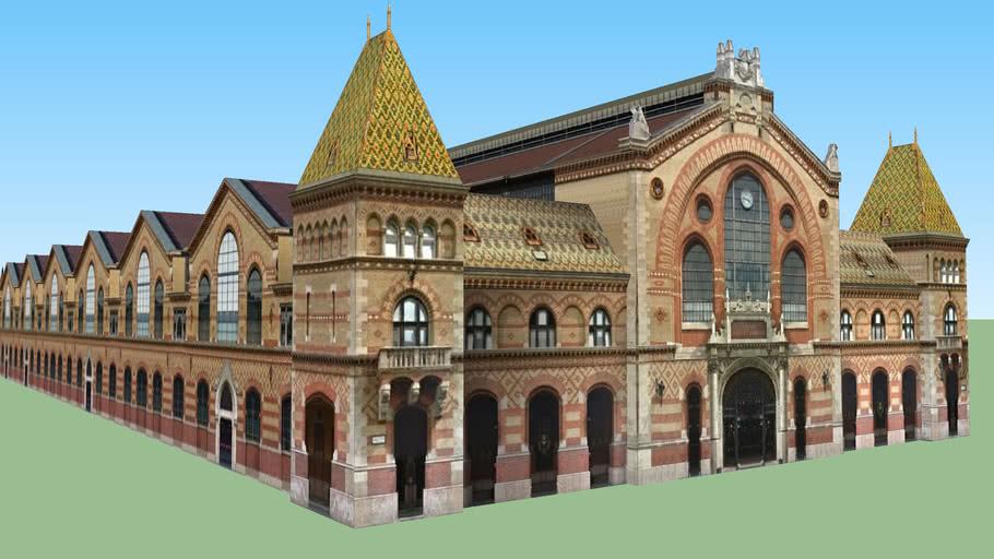 Nagyvásárcsarnok-Great Market Hall, Budapest