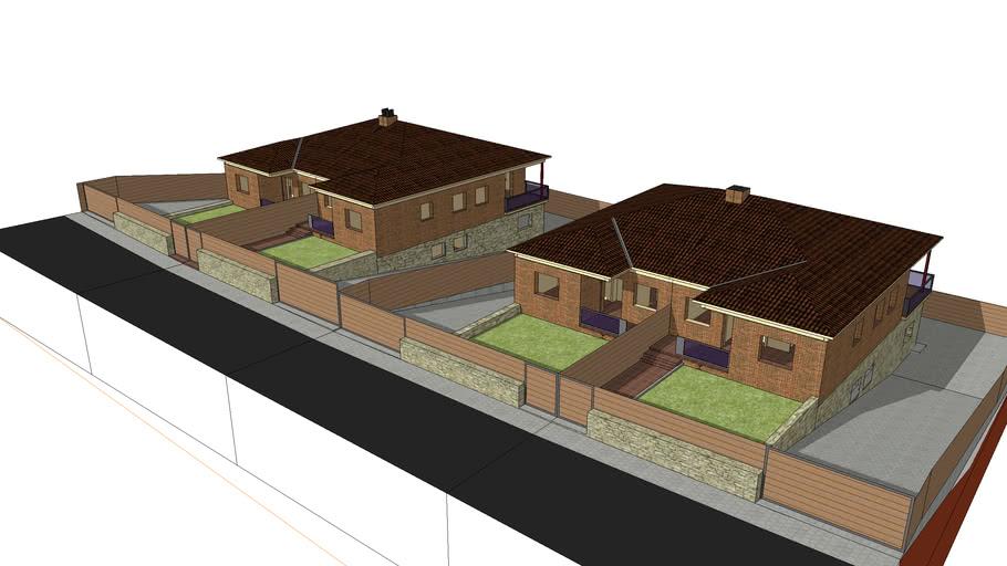 2 viviendas unifamiliares