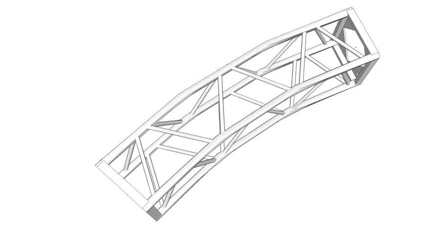 """16"""" B-Type Truss Curve 24 OD"""