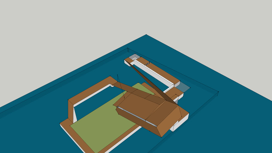 MKWii Custom Track] Sky Circuit 2