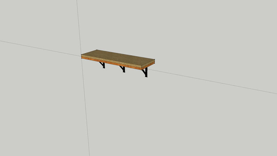 Cat Shelf 1' x 3'