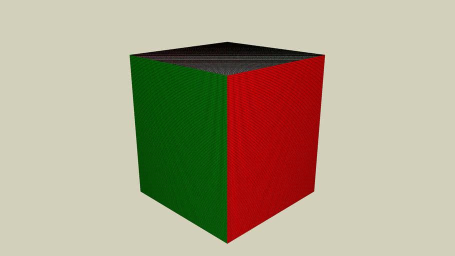 100 x 100 x 100 rubics cube