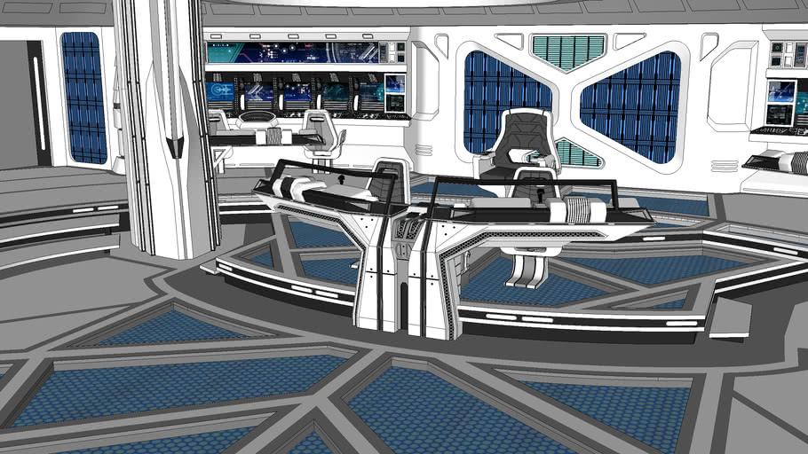 USS Vengeance Bridge Design (USS Ascendant bridge)