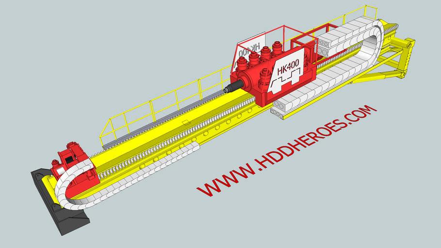 hddheroes HK400 drill rig