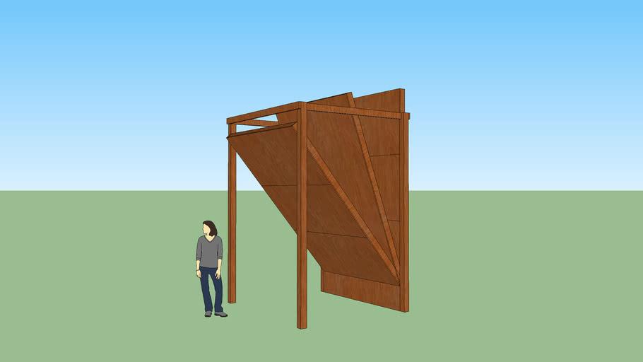 Outdoor Adjustable Climbing Wall