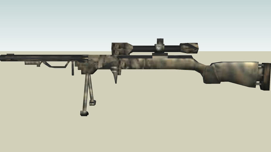 Battle Field 2 - M24 Sniper Rifle