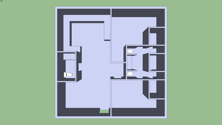 Blank House Floor Plans 3d Warehouse