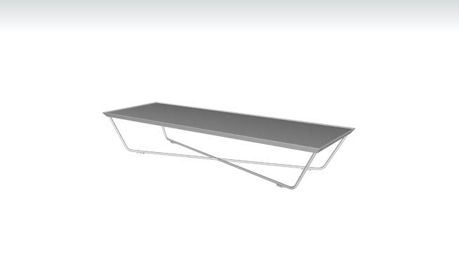 Cale 59in. Coffee Table by Modloft