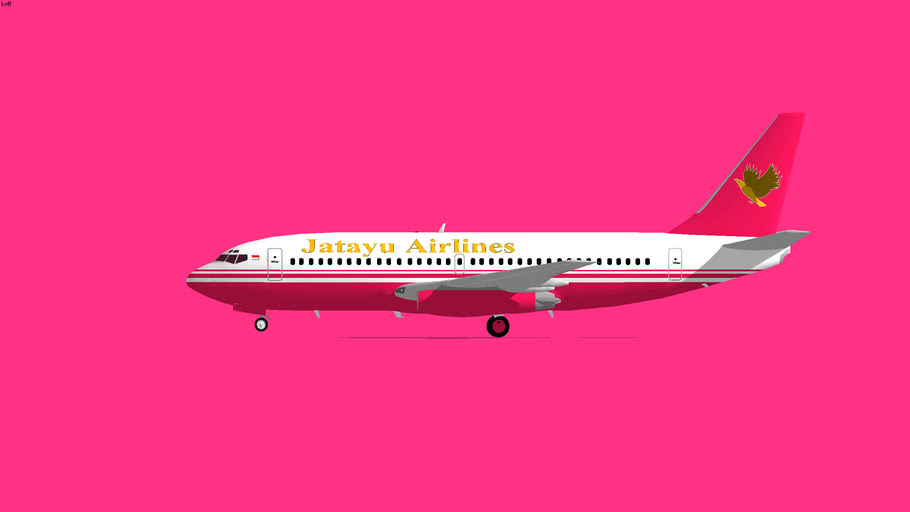 Jatayu Airlines Boeing 737-200 2