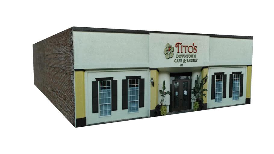 448 Harrison Avenue, Panama City, Florida - Tito's Downtown Cafe & Bakery