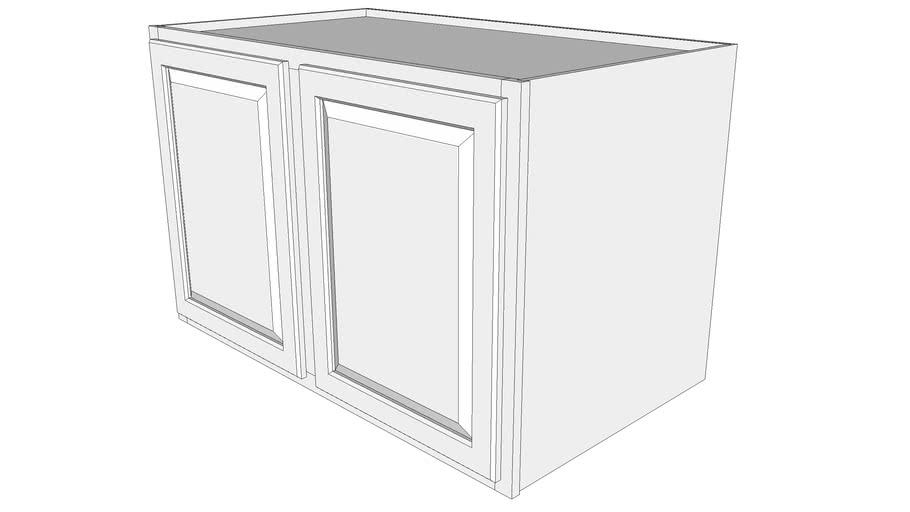 "Briarwood Wall Cabinet 24W4227 - 24"" Deep, Two Doors"