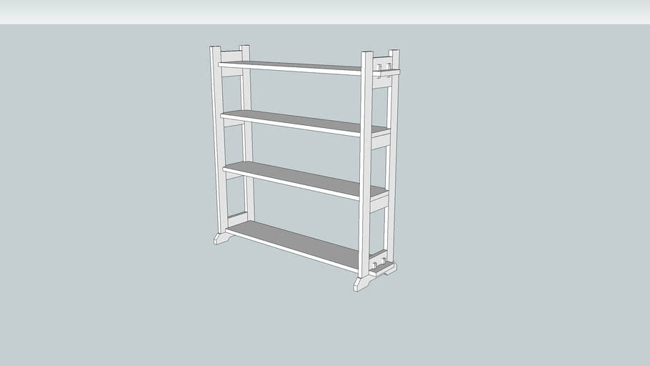 Arts & Crafts Knock-down Bookcase from Popular Woodworking August 2003