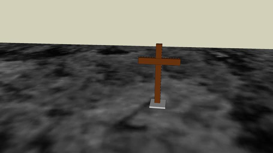 kříž na kopci nevděk