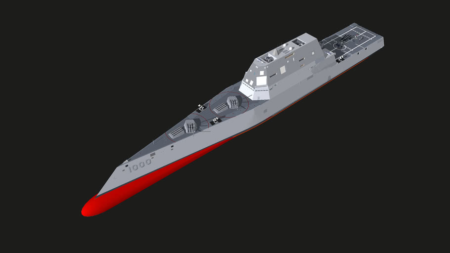 us_navy+USS+ZUMWALT+destroyer+DDG+total+upgrade