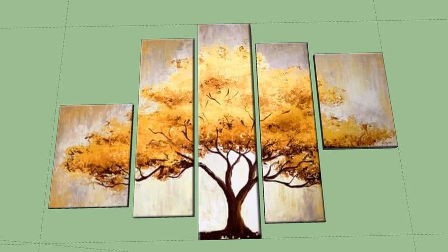 árbol de oro- golden tree