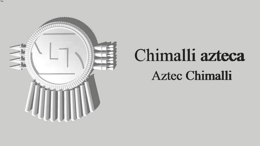 Chimalli / escudo azteca
