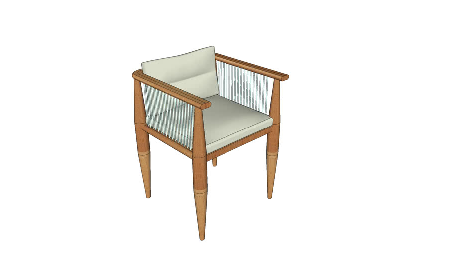 Villa Dining Chair by ZIENTTE
