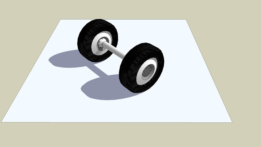 Tyre and Axle
