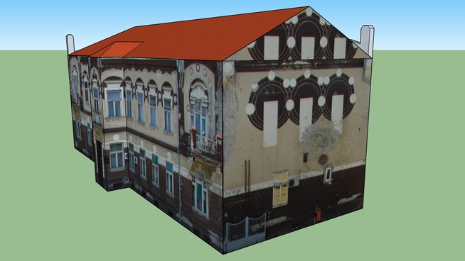 Belgrad House, Osijek, Croatia - Secession