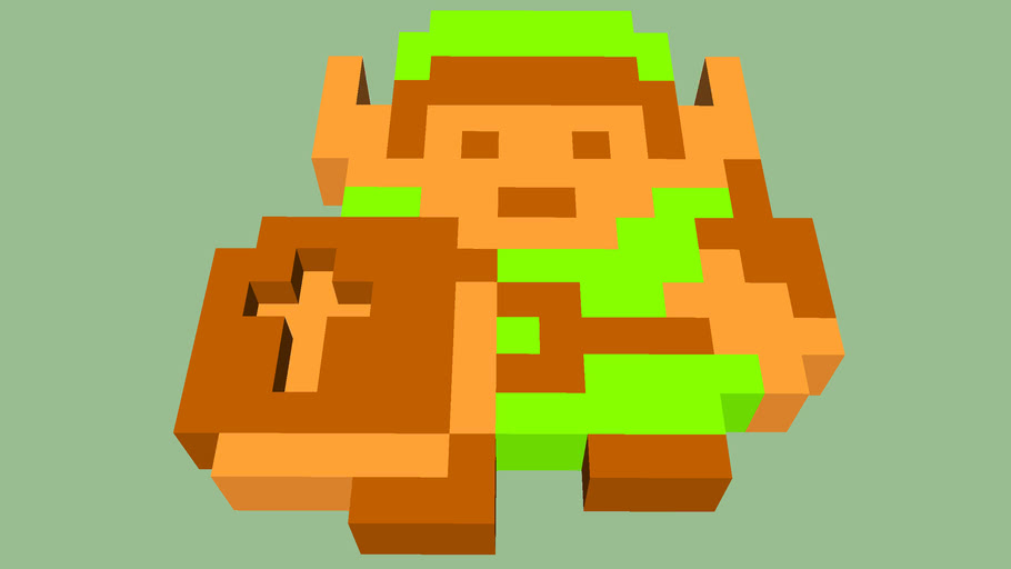 The Legend of Zelda: Link 8 Bit