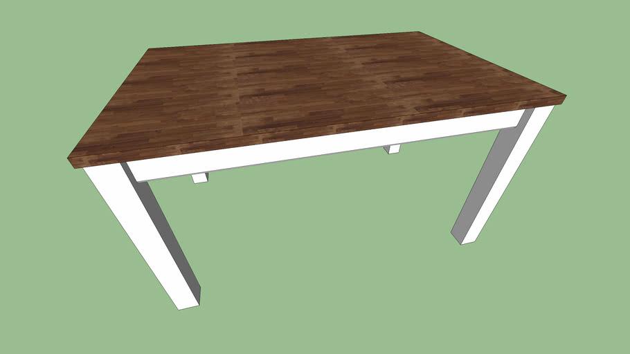 Kitchen wooden table 90*140*76 cm