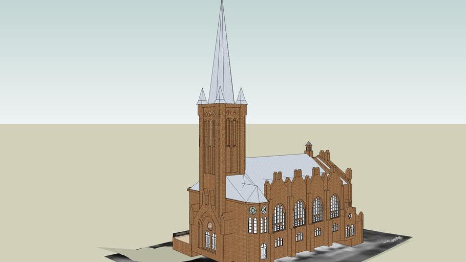 St.Andrew Bobola's Church in Bydgoszcz